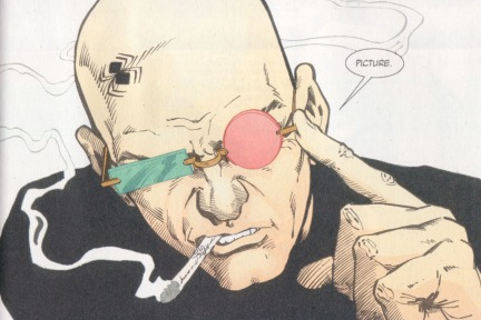 "Spider Jerusalem from ""Transmetropolitan"""