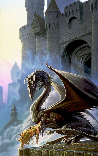 Dragonsbane by Michael Whelan