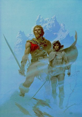 Fafhrd and the Gray Mouser by Michael Whelan