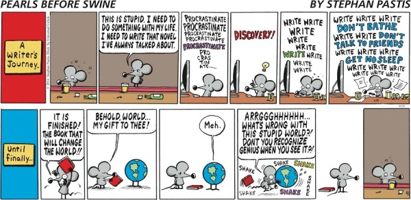 Pearls Before Swine: A Writer's Journey
